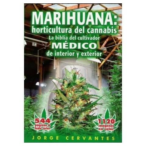 Libro -marihuana horticultura- j. Cervantes