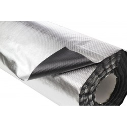 Plastico reflectante vdl diamond/negro 100 x 1,22 m