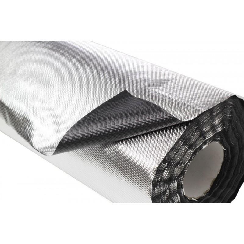 Plastico reflectante vdl diamond/negro 100 x 1,22 m