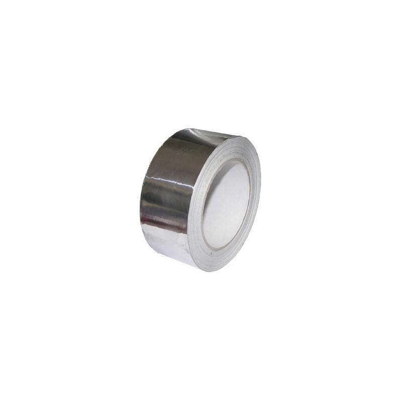 Rollo cinta aluminio 50 micras 50mx50mm