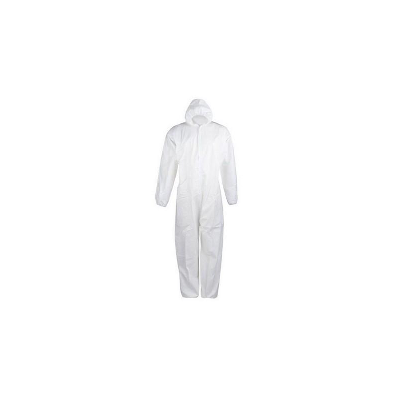 Mono Blanco Desechable Polipropileno Talla XL 1Und