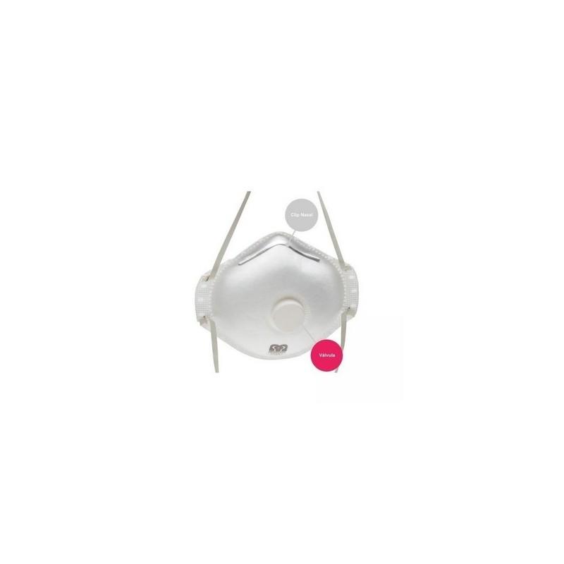 Mascarilla Esferica Proteccion 2 12Und/Caja