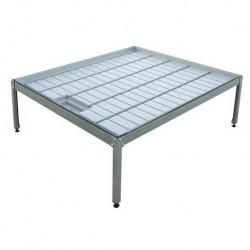 Kit mesa cultivo 1 x 1,1 m + soporte