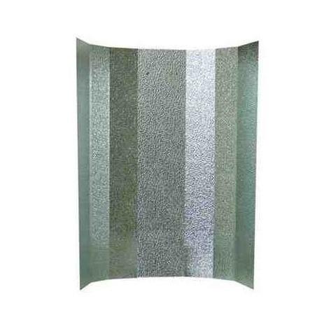 Reflector plancha stucco para cooltube