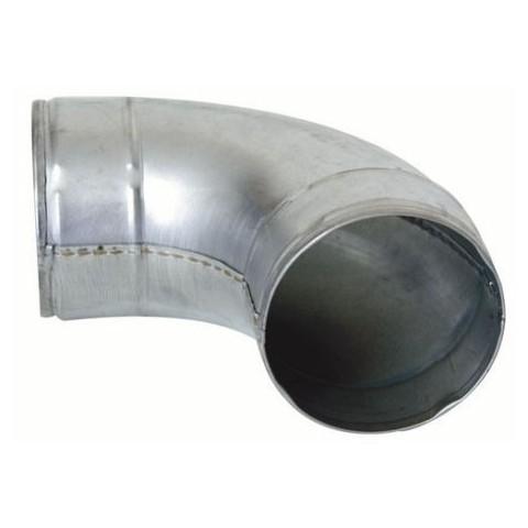 Codo Curvo Metálico 90º 125mm