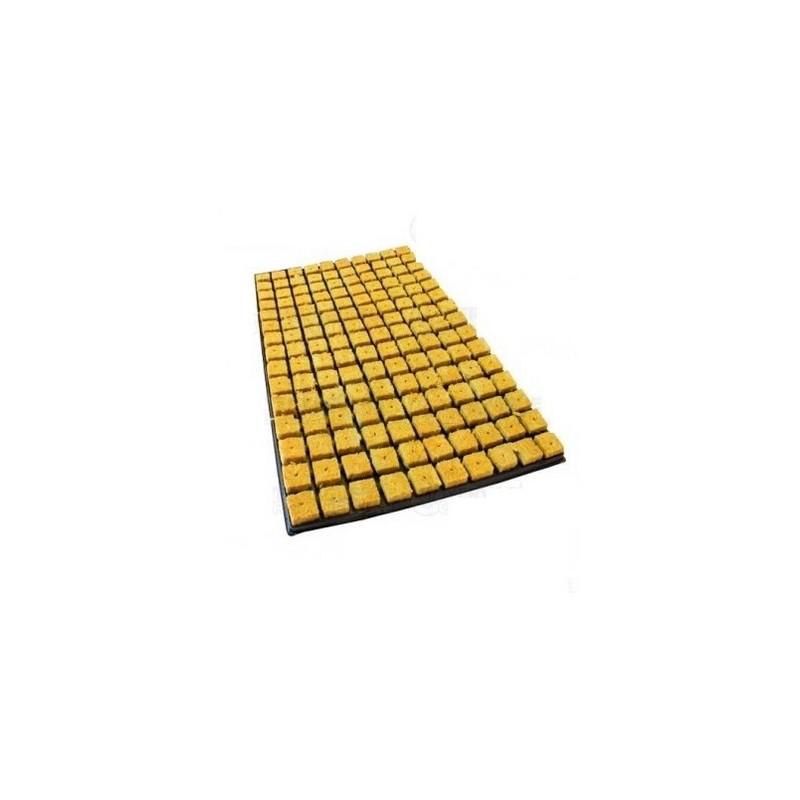 Bandeja lana de roca 150 alv. 25x25x40 - 6 bandejas