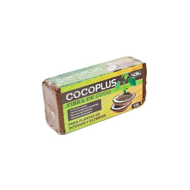 Ladrillo de coco 10 l (21 u) vdl