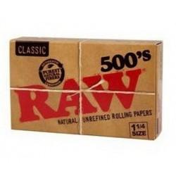 Papel raw 500 ¼  1 und