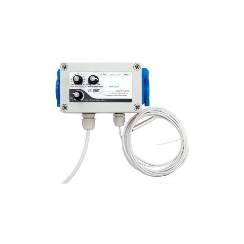 Controlador Temperatura + baja presión GSE