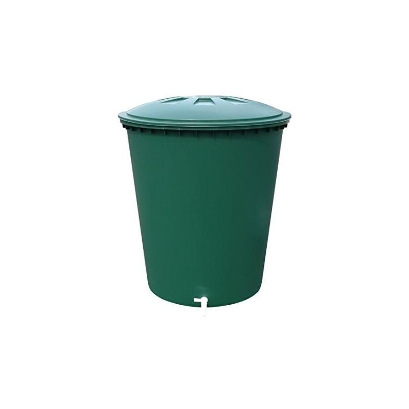 Deposito redondo verde 300 l (81 x 80 cm)