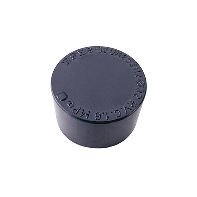 Tapón PVC presión DN-40