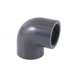 """Codo PVC 90º presión mixto DN-25x3/4"""""""