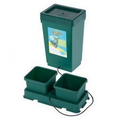 Sistema Easy2grow 2 macetas y tanque 47 L.