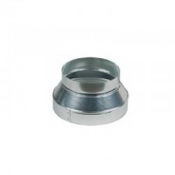 Reducción metálica 200/125 mm