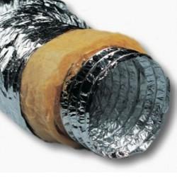 Tubo aluminio aislado 406mm Doble Capa Insonorizado (10m)