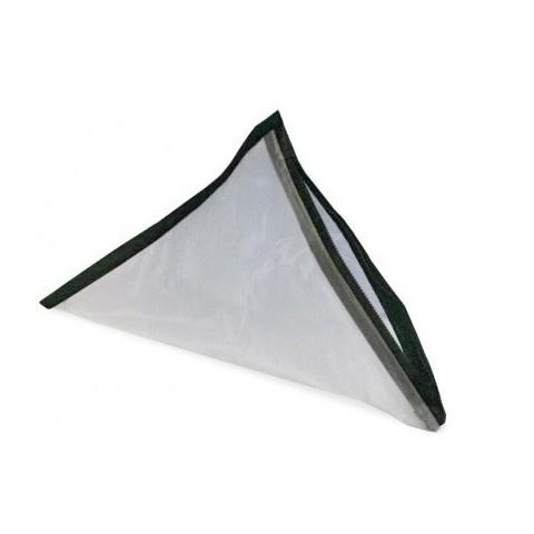 Malla piramidal con cremallera