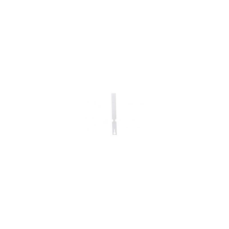 Etiqueta bucle 1,3x20cm 1000 unds