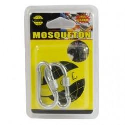 Mosqueton 5x50mm pack 2 unds.