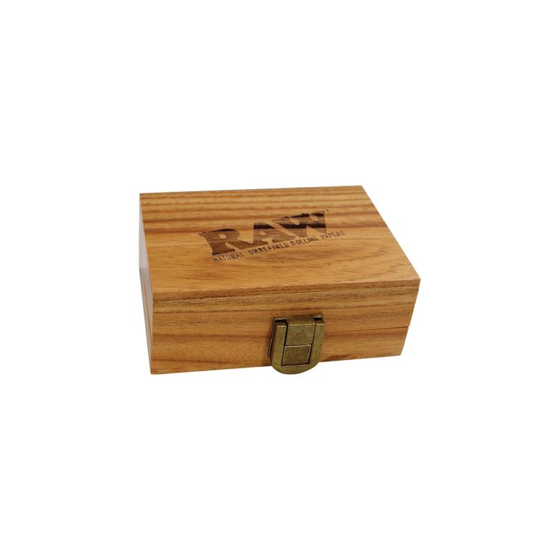 Caja de madera Raw