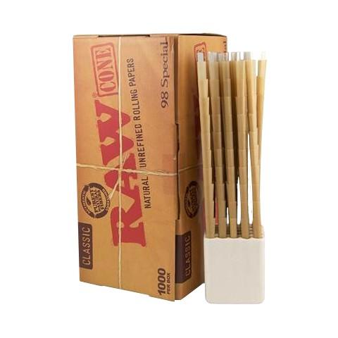 Caja Raw Classic Cones King Size Slim 1000