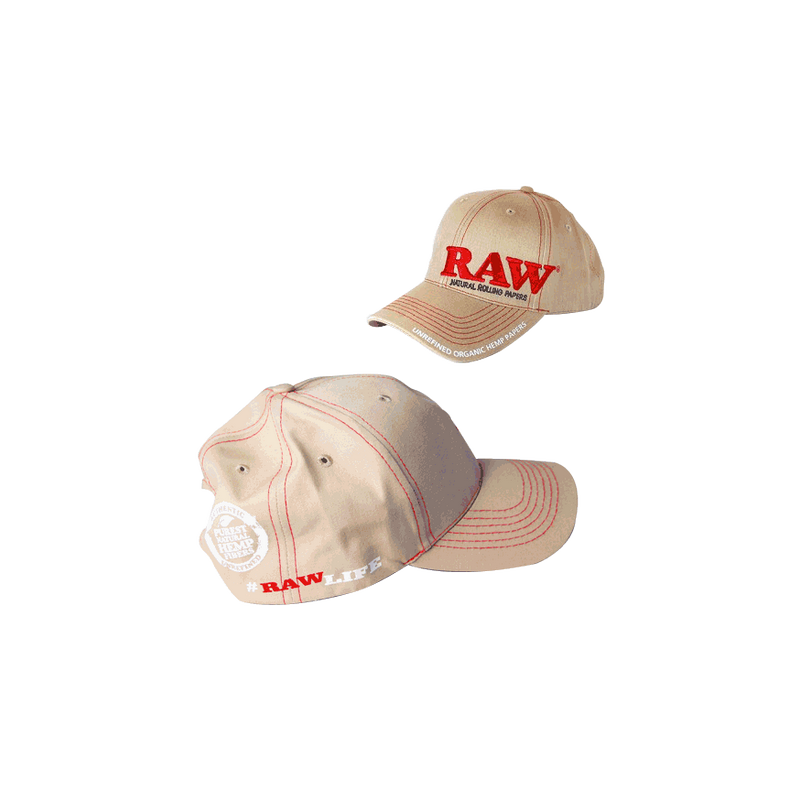 Gorra Raw Beige